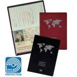 RFID-Schutzhülle - für EU-Reisepass - Schutz vor Datenmissbrauch Produktbild