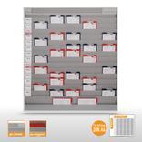 Werkstattplaner groß mit Zeitstrahl (bis zu 75 DIN A4) Produktbild