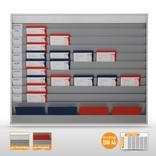 Planungstafel groß (50 x DIN A4) mit individueller Beschriftungsmöglichkeit Produktbild