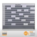 """Planungstafel groß (50 x DIN A4) mit Beschriftung """"Baupläne"""" Produktbild"""