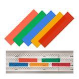Einsteckschilder - transparent - für Einstecktafeln - System Visiplan Produktbild