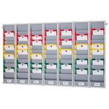 Flexo-Board Tafelsystem mit 7 Tafelsegmenten, für DIN A4 Aufträge Produktbild
