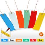PVC-Hänge-Etiketten mit Draht - Format 100 x 30 mm (VE = 250) Produktbild