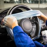 Lenkradschutz auf der Compactrolle (500 Stück) Produktbild