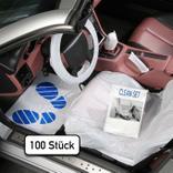 Einweg-Fahrzeugschutz-Artikel Set für PKW, Clean-Set- 5 in 1 Produktbild