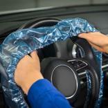 Mehrfach-Lenkradschutz mit Gummizug (für PKW) Produktbild