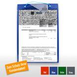 """Auftragstasche """"Secure"""" für DIN A4, Unterlagen-Fach rückseitig Produktbild"""