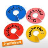 Kennzeichnungsringe aus PVC, individuell Produktbild