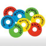 Kennzeichnungsringe aus PVC mit wählbarem Textmotiv Produktbild