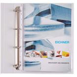 PVC-Dehnfaltentasche - DIN A4 - Volldeckend - Abheftrand Produktbild