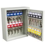 Schlüsselschrank 1 mm Stahlblech - 1-türig - 20 bis 300 Schlüsselhaken Produktbild