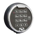 Elektronisches Zahlenschloss für Schlüsseltresore mit Sicherheitsstufen Produktbild