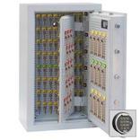 Schlüsseltresor Klasse I (Euro-Norm) - Elektronikschloss - 100-1300 Schlüsselhaken Produktbild