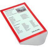 Folien-Passepartout für DIN A4 Preisblatthalter Produktbild