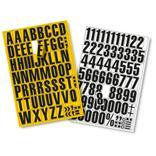 Magnetische Ziffern und Buchstaben Produktbild