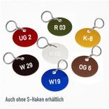 "Buchstaben-Marken - Aluminium eloxiert - ""Alpha-Numero""- mit S-Metallhaken Produktbild"