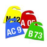 Kennzeichnungs-Anhänger (bis 3-stellig, 2-seitig) Produktbild