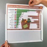 Magnet Sichttasche - DIN A4 Querformat Produktbild
