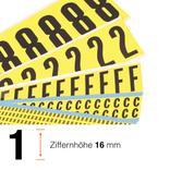 Kombipackung selbstklebende Ziffern 0-9 Produktbild