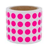 Runde Papieretiketten - Ø 15 mm - permanent klebend - 6 Farben Produktbild