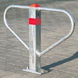 Parkbügel - Sperrbügel - Profilzylinder - zum Aufdübeln oder Einbetonieren Produktbild