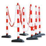 Kettenständer-Set - Kunststoffständer Secur 1 - Rot/Weiss Produktbild