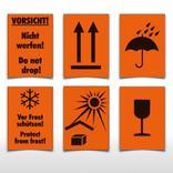 Versandgut- und Verpackungsetiketten - verschiedene Versionen Produktbild