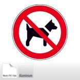 Verbotsschild - Mitführen von Hunden (Tieren) verboten Produktbild