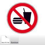Verbotsschild - Essen und Trinken verboten Produktbild