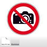 Verbotsschild - Fotografieren verboten Produktbild