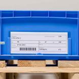 KANBAN Taschen für KLT´s - VDA-Norm - B 210 x H 80 mm - 4 Farben Produktbild