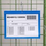 Kennzeichnungstaschen mit Aufhängelochung - DIN A6 quer - Längsseite offfen Produktbild