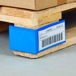 Palettenfußbanderole - starke PVC-Folie Produktbild