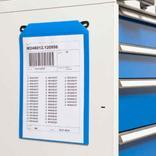 Gitterboxtaschen mit Einhänge-Haken und Magnetstreifen - in 4 Größen Produktbild