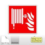 Brandschutzschild - langnachleuchtend Löschschlauch Produktbild