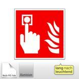 Brandschutzschild - langnachleuchtend Brandmelder Produktbild