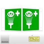 Erste-Hilfe-Schild - Winkel - langnachleuchtend Augenspüleinrichtung Produktbild