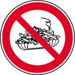 Verbotsschild - Mitnahme von Speisen verboten Produktbild