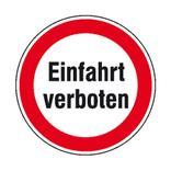 Verbotsschild - Einfahrt verboten Produktbild