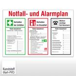 Aushang - Notfall- und Alarmplan Produktbild