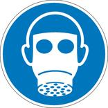 Gebotsschild - Atemschutz benutzen Produktbild