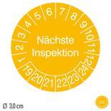 Prüfplakette Nächste Inspektion - auf Rolle Produktbild