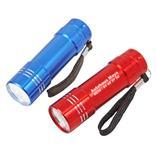 "LED-Taschenlampe ""STERN"" aus Aluminium Produktbild"