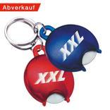 """Schlüsselanhänger """"EURO"""" rund mit Einkaufschip Produktbild"""