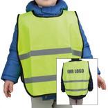 Kinder-Signalüberwurf - SMALL - 4 Größen - neutral oder mit Werbeanbringung Produktbild