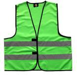 Funktionsweste Grün mit Leuchtstreifen (3 Größen) Produktbild
