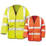 Sicherheitsjacke - Reflektierend - Overlock-Nähte Produktbild