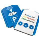 Parkscheibe mit 3 EK-Chips, mehrfarbiger Digitaldruck Produktbild