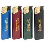 """Elektronikfeuerzeug """"GOLDCAP"""" - mit Goldkappe Produktbild"""