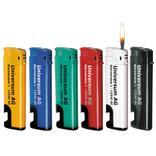 Elektronikfeuerzeug mit Flaschenöffner Produktbild